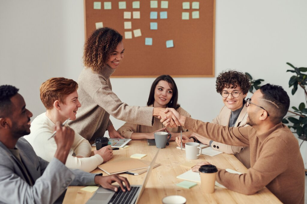 Real Estate Investors Handshake Image
