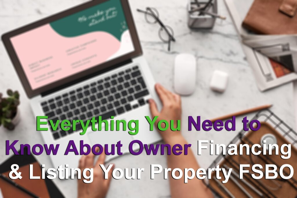 Selling Your House with Owner Financing or FSBO Hero Image