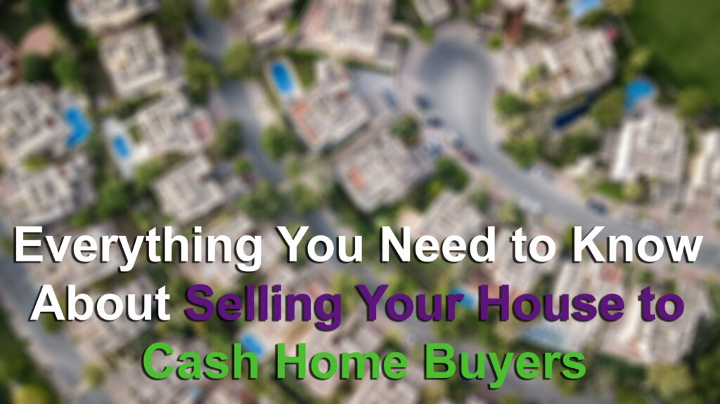 Selling to a cash home buyers image