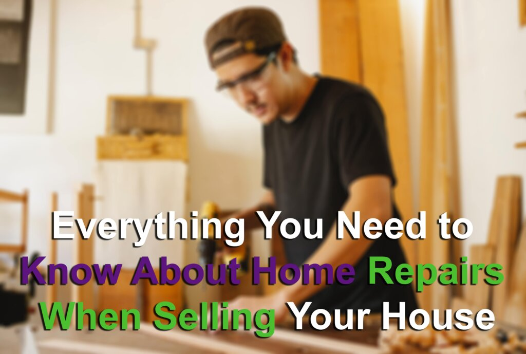 Repairs when selling your house hero image