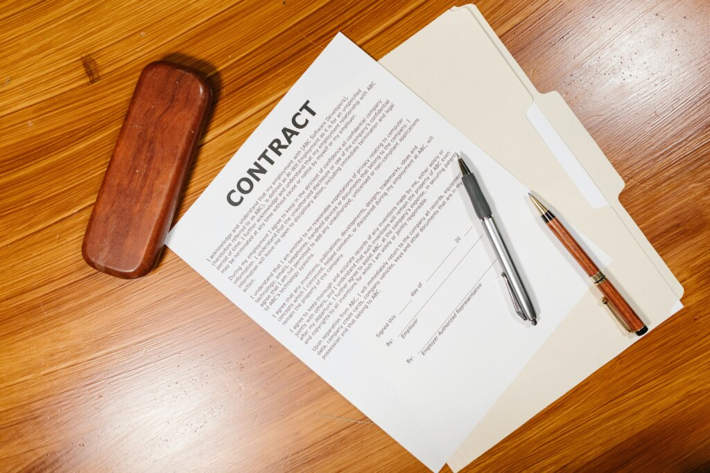 Real Estate Investor Contract Image