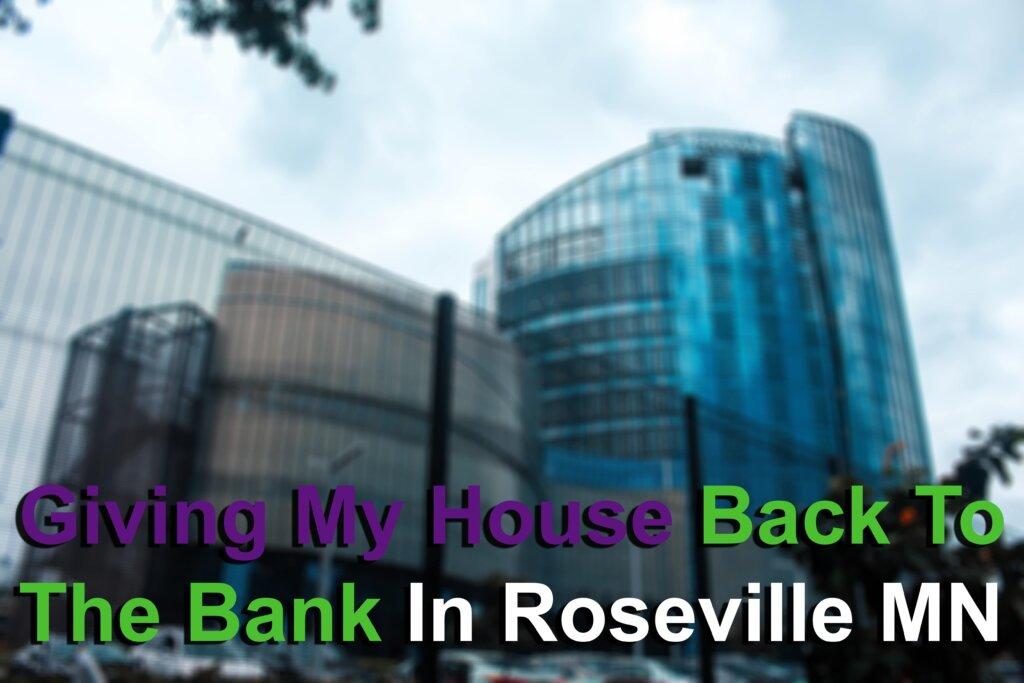 Avoiding foreclosure in Roseville MN Image