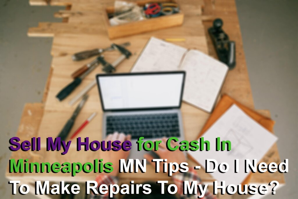 Home Repairs when selling your house for cash Image
