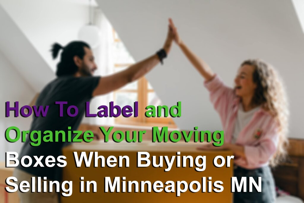 Moving tips when buying or selling in Minneapolis MN Image