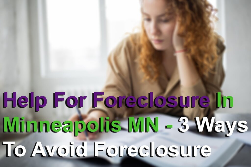 Help for foreclosure in Minneapolis MN Image
