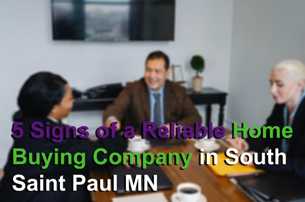 Reliable home buying company in South Saint Paul MN Image