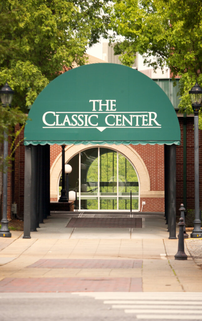The Classic Center is a perfect place to catch a conference a theatrical show or watch the Ice Dogs play some Hockey in Athens Ga. Want to know more about Athens give George a call 706-426-1082