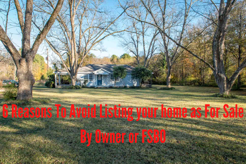 6 Reasons To Avoid An FSBO Listing of Your House In Greater Athens Georgia with Real Estate Agent Georgui Kassaev, My Athens Realtor.