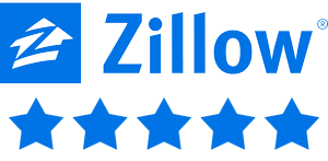 Zillow Logo with link to zillow reviews