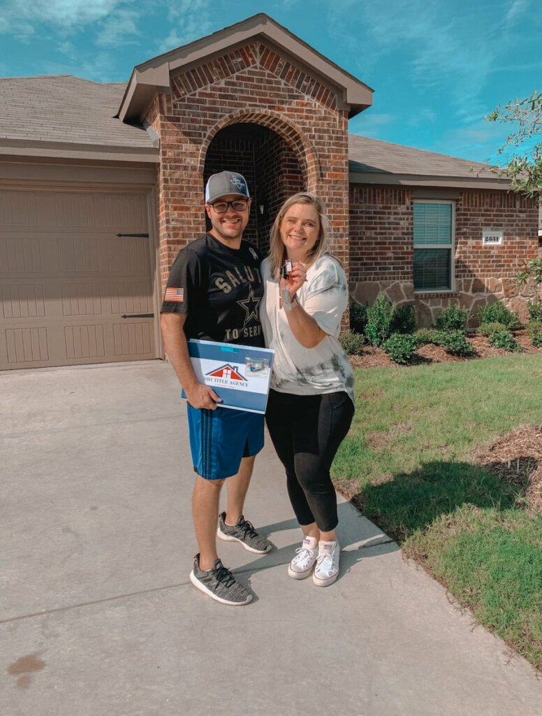 Home buyer in Round Rock