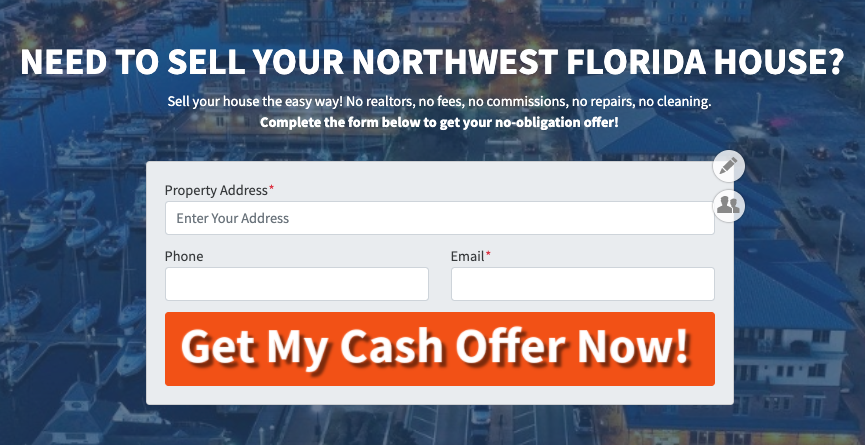 Receive your cash offer
