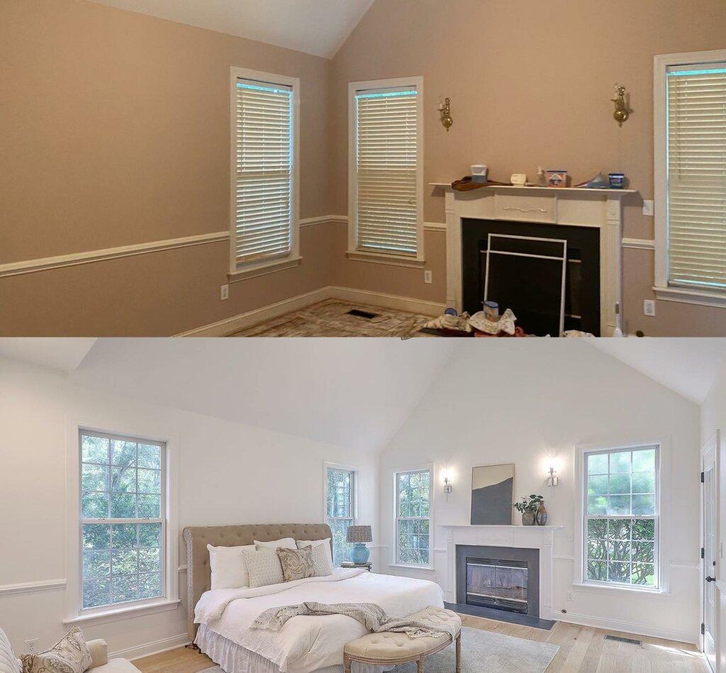 Bedroom image after renovation