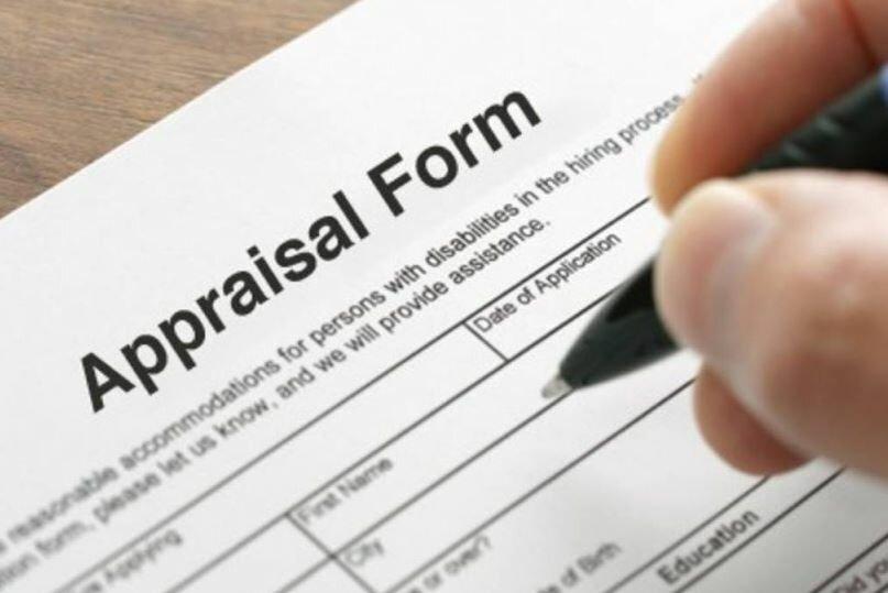 image of appraisals form
