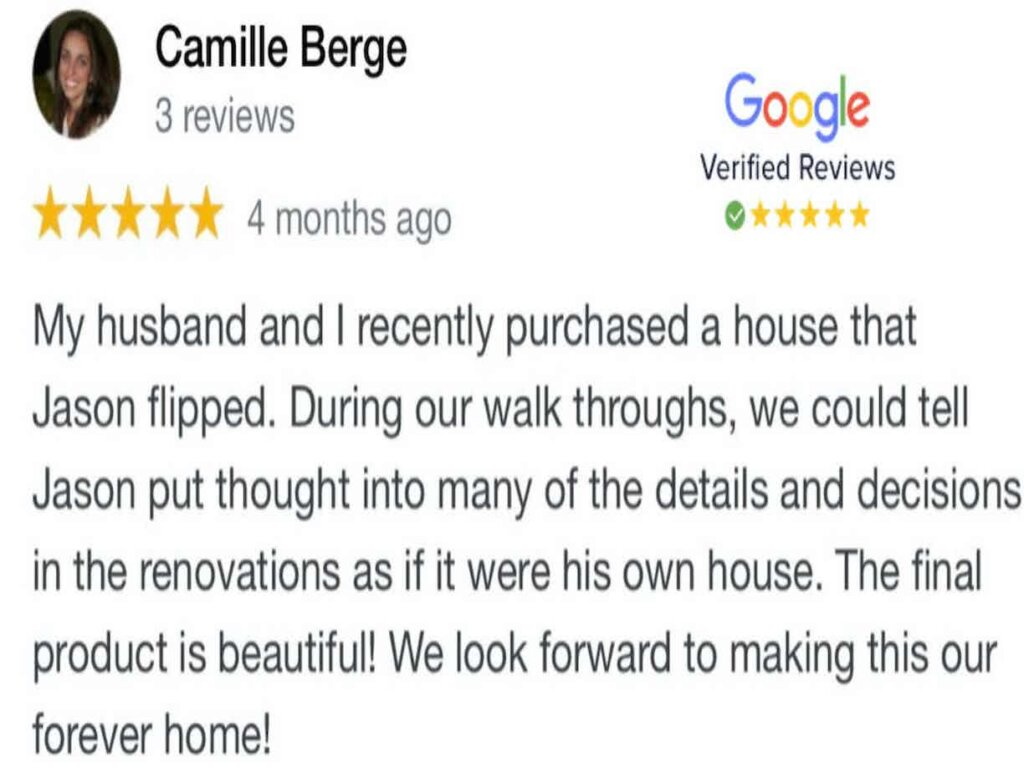 Charleston House Buyers Review