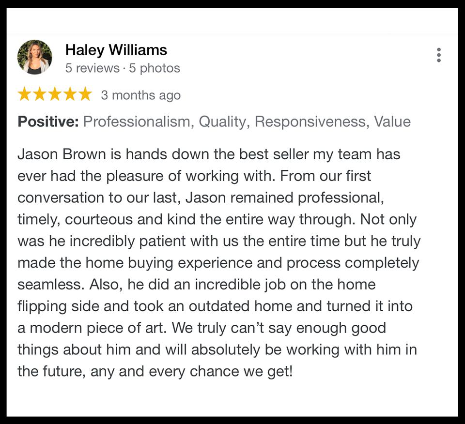 5 Star Review House Buyer Charleston SC