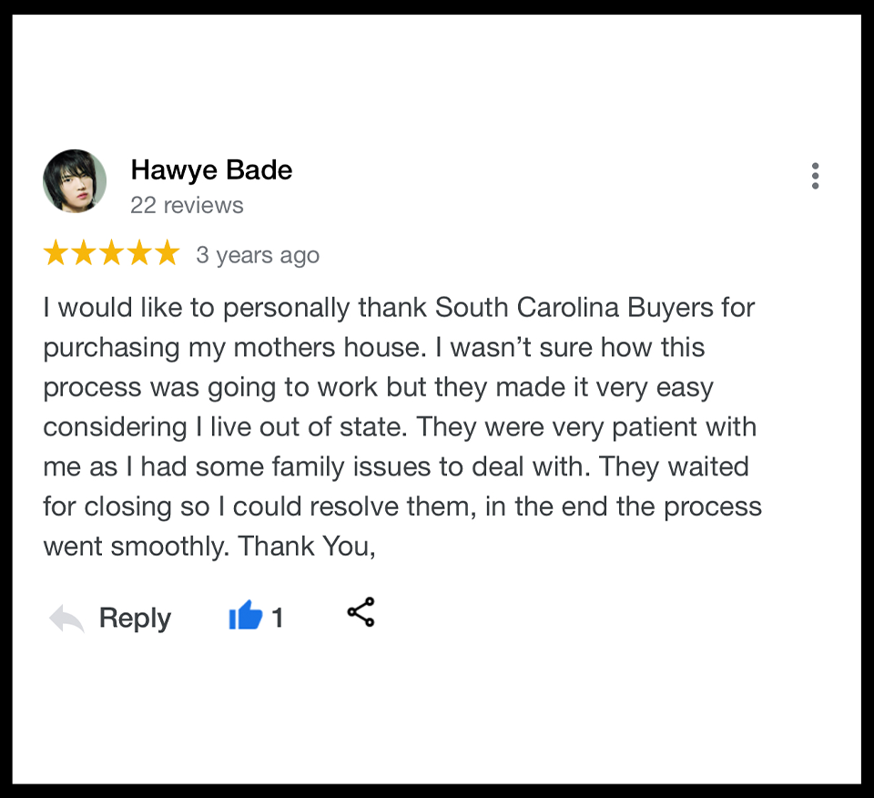 We Buy Houses Charleston SC. Highly rated and trusted home buyers in Charleston SC.