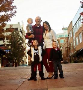 Justin Family Pic