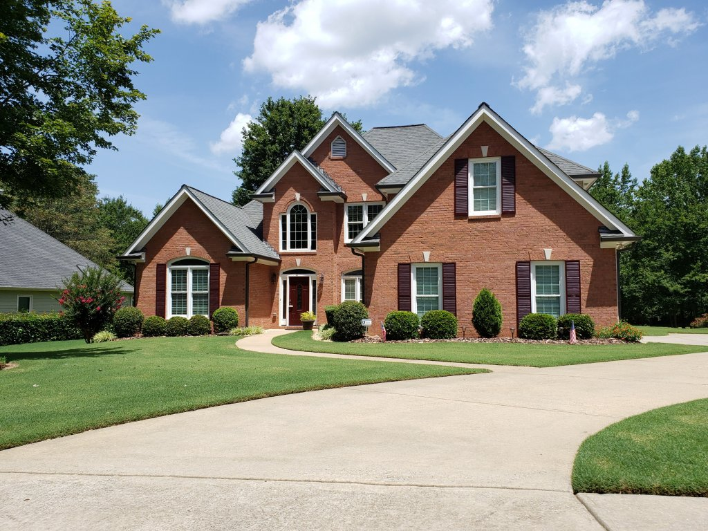 image of a house in Gwinnett County, Georgia