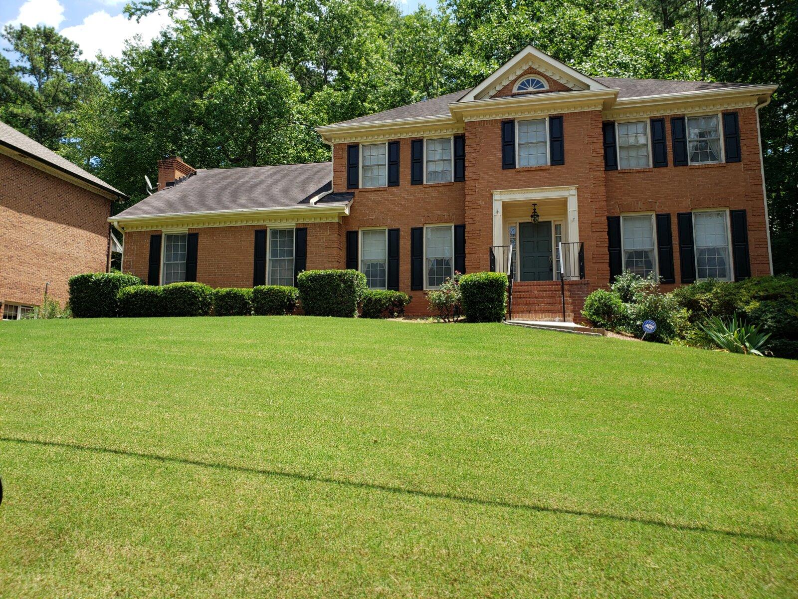 A picture of a random house in Atlanta Georgia