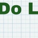 to do list. a reminder of the things to do before buying a home