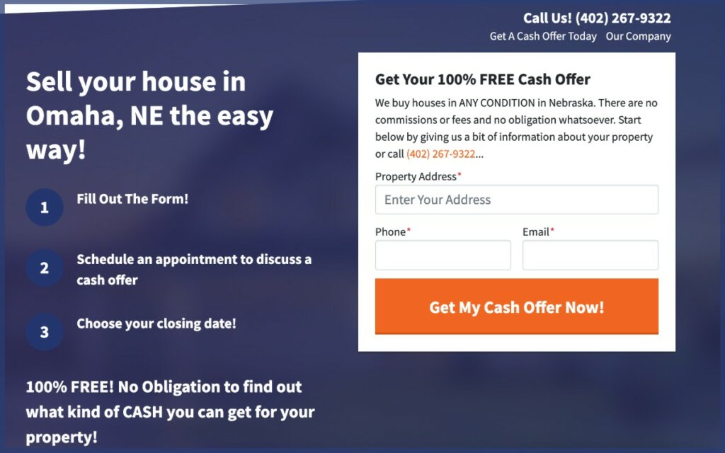 Fast cash for your house