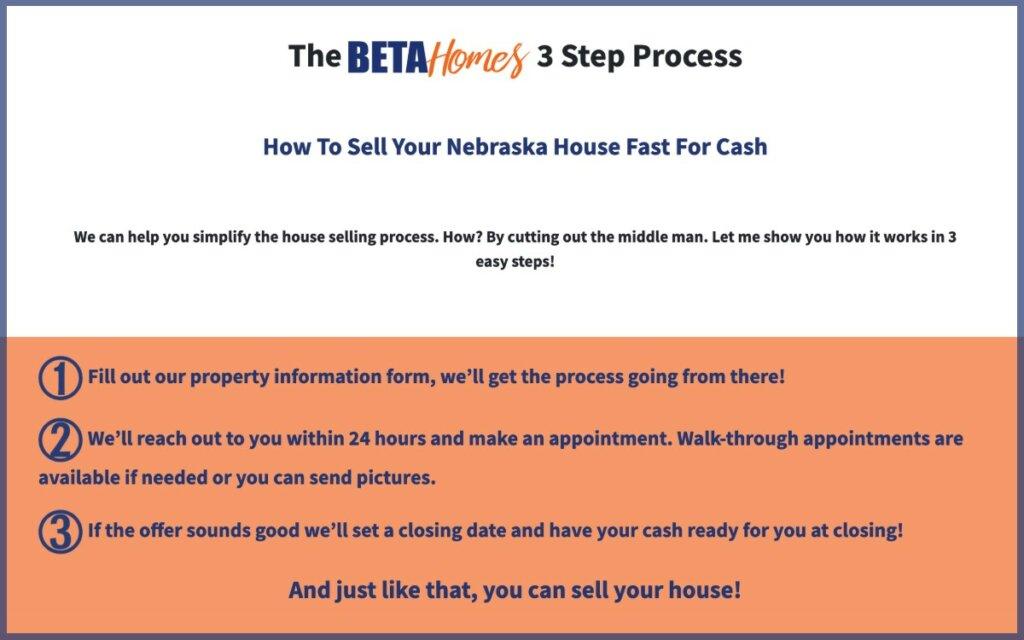 Cash for your house in nebraska