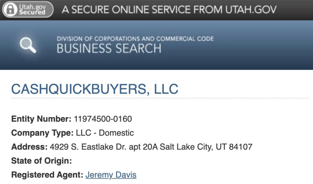 House buyers of Salt Lake City, Utah