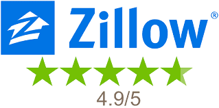 5 star reviews from Zillow for Halo Homebuyers