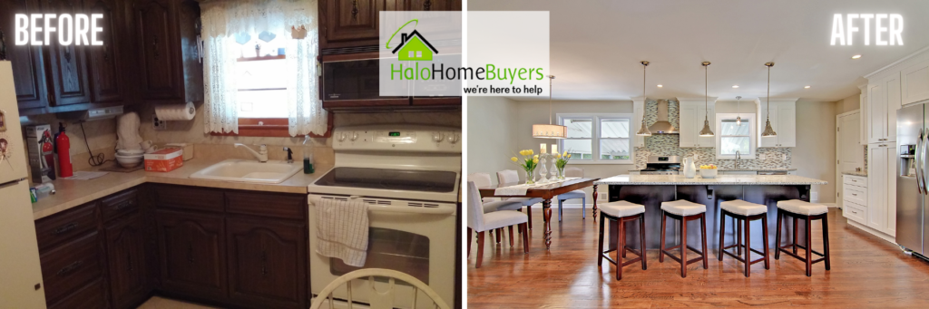 Halo Homebuyers before and after