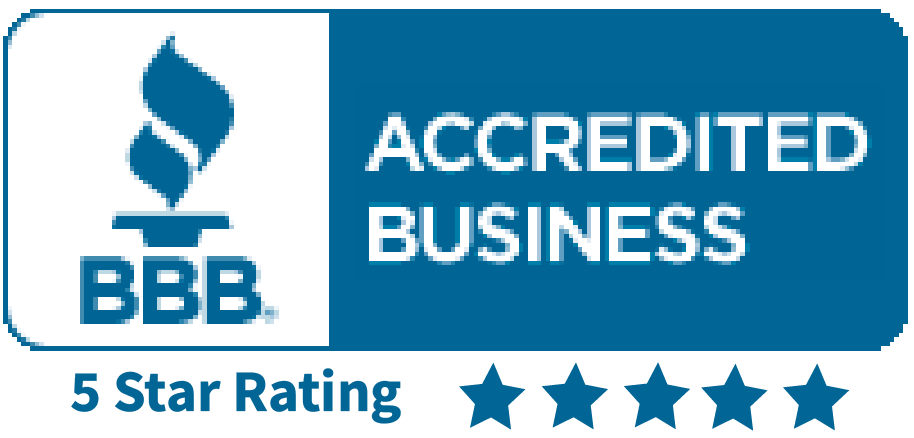 BBB 5 Star Rating Seal