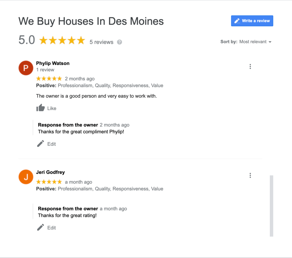 need to sell house fast