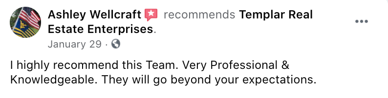 Reviews from Templar Real Estate Enterprises