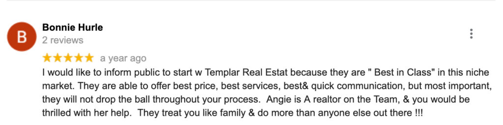 Templar Real Estate Enterprises review