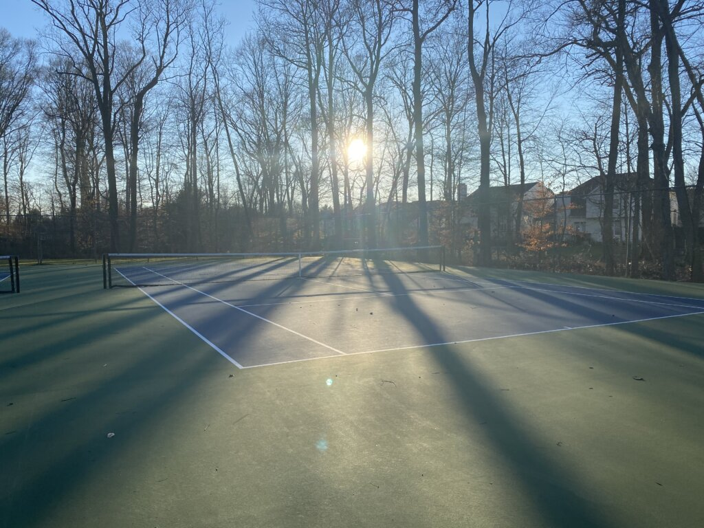 Stirling Chase in Scotch Plains Tennis Courts
