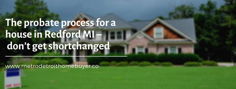 We buy properties in Redford MI