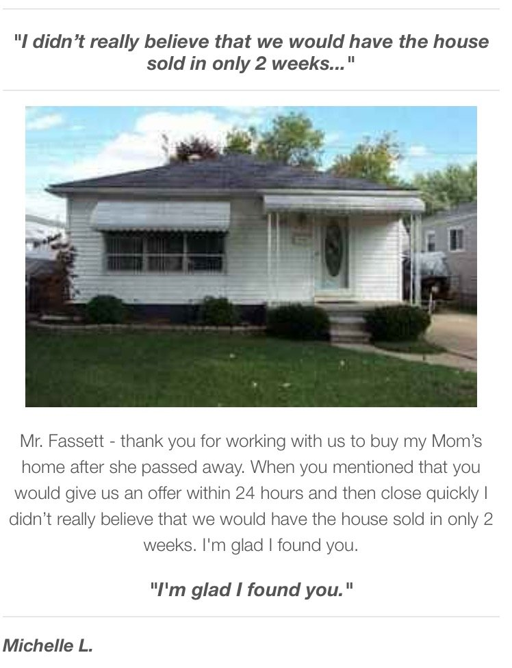 We Buy Houses Southfield