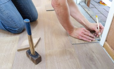 Huntington Woods Home Buyers Use Tax Return For Flooring
