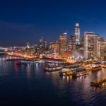 San Francisco Bay Area Night Lights