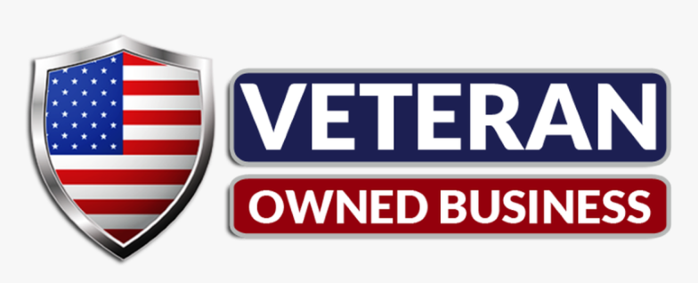 This image has an empty alt attribute; its file name is 257-2574542_veteran-owned-business-png-logo-transparent-png-1.png