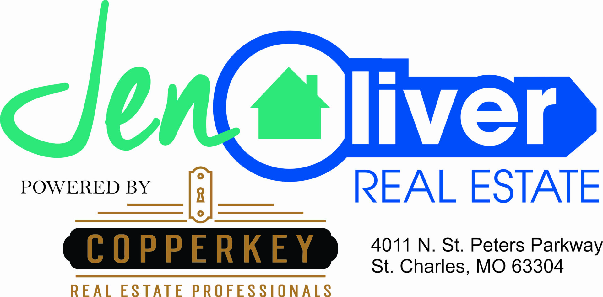 Jen Oliver Real Estate powered by CopperKey logo