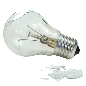 how to change a lightbulb