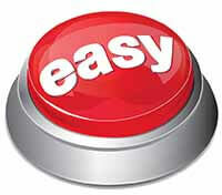 Sell Your House Easy & Fast Button