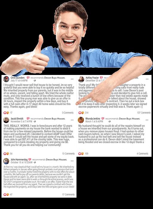 we buy homes Kyle reviews