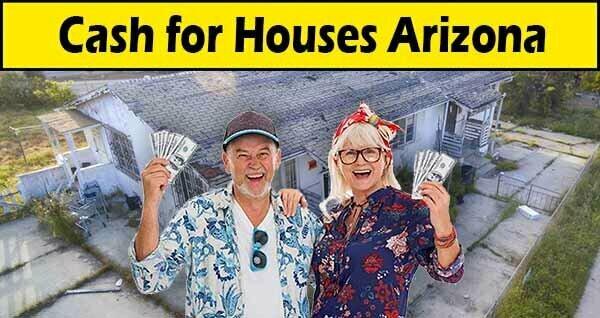 Sell My House Fast Arizona Couple Holding Cash