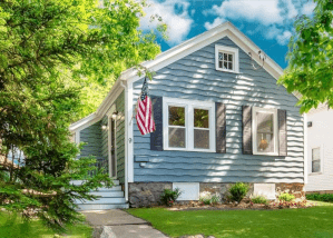 After picture of a house we bought in Massachusetts from a seller that needed to sell fast