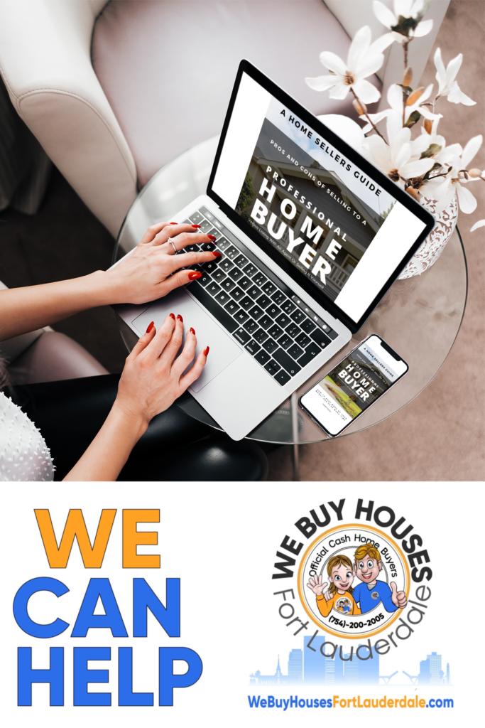 We Buy Houses Fort Lauderdale™ Free Stop Foreclosure Report