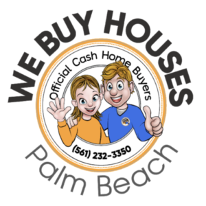 We Buy Houses in Palm Beach Logo