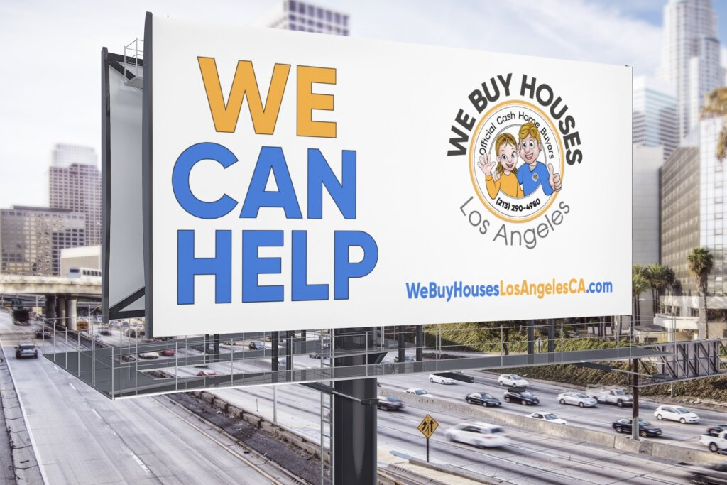 We Buy Houses Los Angeles Billboard
