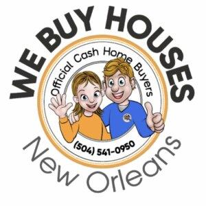 We Buy Houses New Orleans, LA Logo