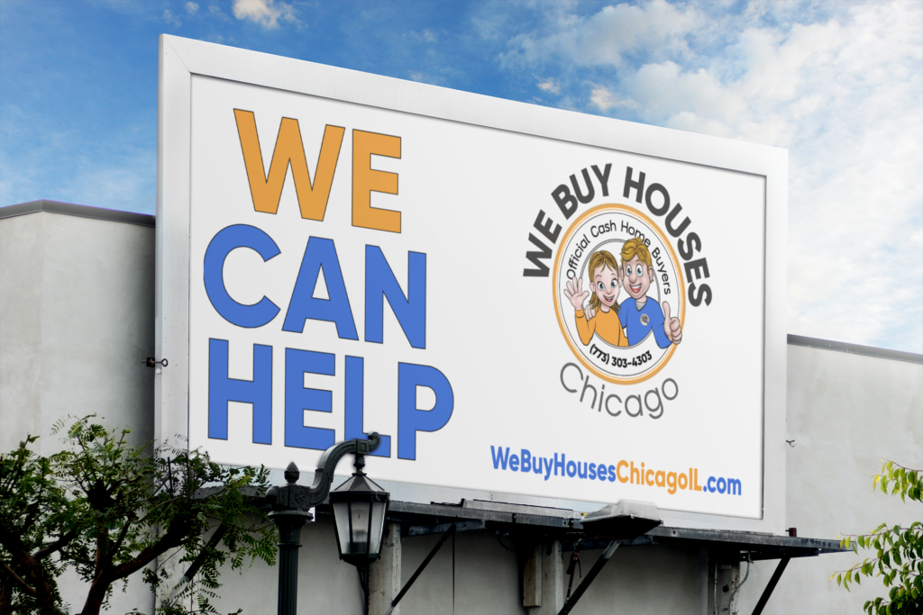 We Buy Houses Chicago Billboard